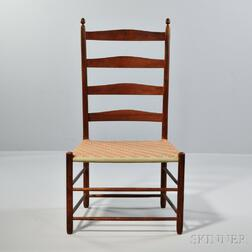 Shaker Slat-back Maple Side Chair
