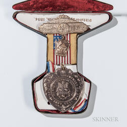 Grand Army of the Republic 28th National Encampment Medal and Case