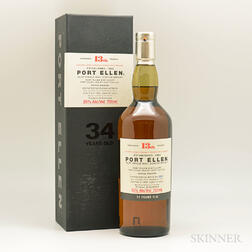 Port Ellen 34 Years Old 1978, 1 750ml bottle