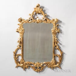 Rococo Revival Carved Giltwood Mirror
