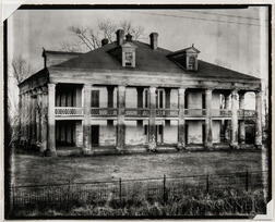Walker Evans (American, 1903-1975)       Uncle Sam Plantation House, St. James Parish, Louisiana
