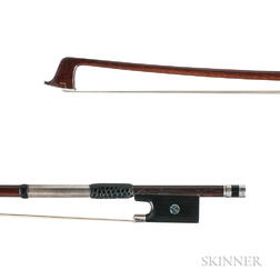Silver-mounted Violin Bow, Claude Thomassin, c. 1890