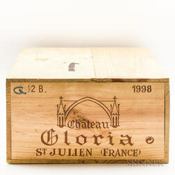 Chateau Gloria 1998, 12 bottles (owc)