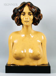 Frank Gallo (American, 1933-2019)      Female Bust