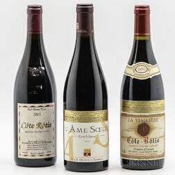 Mixed Northern Rhone, 3 bottles