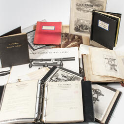 Select Collection of W. & L.E. Gurley Research Material Compiled by William H. Skerritt