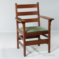 Gustav Stickley Armchair