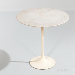 Eero Saarinen for Knoll International Marble-top Tulip Side Table
