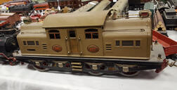 Lionel 402E Electric Locomotive and Tender.     Estimate $200-300