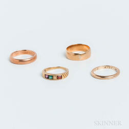 Four Gold Bands