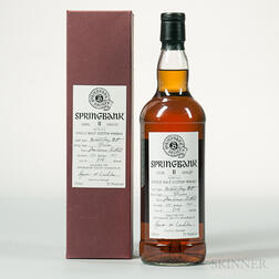 Springbank Local Barley 11 Years Old, 1 750ml bottle