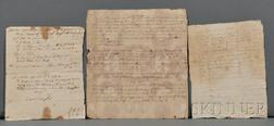 Perry, Mehitabel (1705-1797) Archive of Personal and Legal Papers: