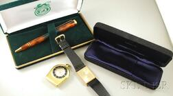 Three Gentleman's Jewelry Items and Accessories