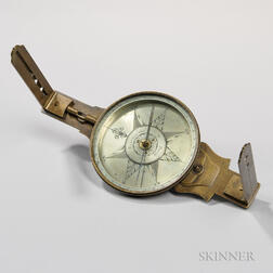 Rittenhouse & Potts Surveyor's Vernier Compass