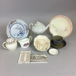 Eleven Wedgwood Ceramic Items