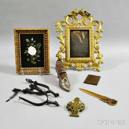 Eight Mostly Metal Items