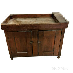 Country Pine Dry Sink