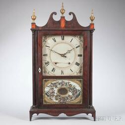 Eli Terry & Son Pillar and Scroll Shelf Clock