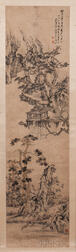 Hanging Scroll Landscape