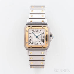 "Cartier ""Santos Galbee"" Two-tone Reference 2319 Automatic Wristwatch"