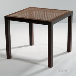 Square Side Table Possibly by Dunbar