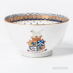 Armorial Export Porcelain Tea Bowl