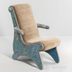 "Tommy Simpson ""Blue Moon"" Chair"