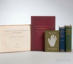 X-Ray Technology and Radiology, Five Early Titles.
