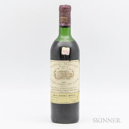 Chateau Margaux 1970, 1 bottle