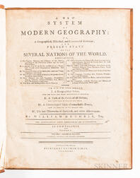 Guthrie, William (1708-1770) A New System of Modern Geography: or, A Geographical, Historical, and Commercial Grammar; and Present Stat