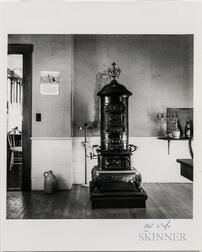 Walker Evans (American, 1903-1975)       Interior with Stove, Heliker House, Cranberry Island, Maine