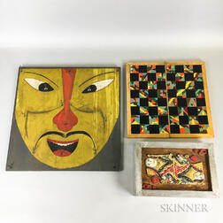 Three 20th Century Game Boards