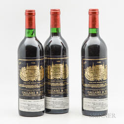 Chateau Palmer 1983, 3 bottles