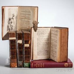 Medical Books, Four Titles in Six Volumes.