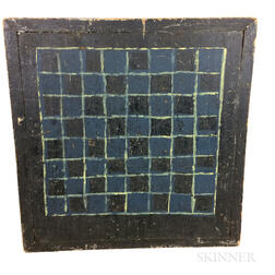 Primitive Painted Pine Double-sided Game Board