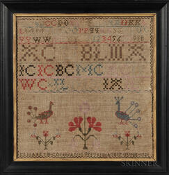 Elizabeth Connal Longsid Needlework Sampler