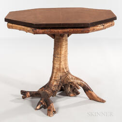 "Octagonal Top ""Root"" Table"