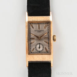 18kt Gold Patek Philippe & Co. Reference 425 Wristwatch