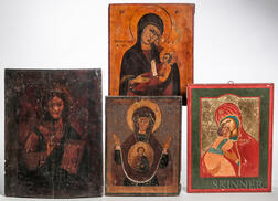 Four Orthodox Icons