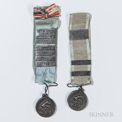 Two 29th Massachusetts Infantry Regiment Veteran's Medals