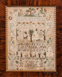 Catherine Congdon Needlework Sampler