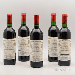 Chateau Cheval Blanc 1983, 5 bottles