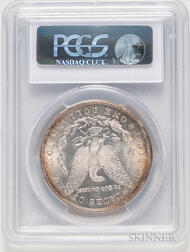 1878-CC Morgan Dollar, PCGS MS64.     Estimate $300-500