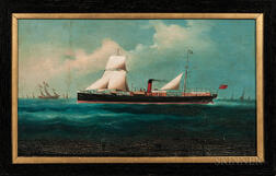 Export Portrait of a British Steamboat