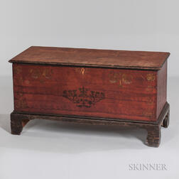 Small Poplar Soap Hollow-type Blanket Chest