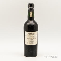 Leacocks Madeira Sercial 1910, 1 bottle