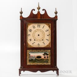 Eli Terry & Sons Pillar and Scroll Clock