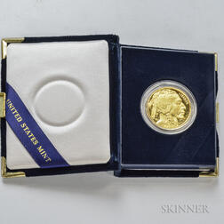 *2006-W $50 Proof American Gold Buffalo.     Estimate $1,000-1,500