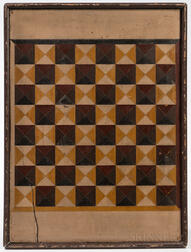 Large Painted Checkerboard