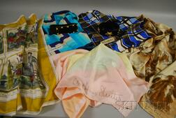 Group of Lady's Belts and Scarves